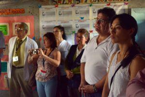 Visita Ministra Salud Guatemala Cuilco